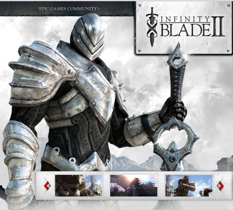 Infinity Blade 2 coming to iOS 12.01.2011