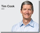 Why did Tim Cook mention Windows Phone?