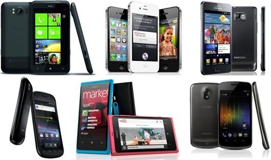 Smartphones 2011-2012