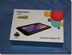 Mobility Digest Review: Kocaso M760B 1.2GHz 4GB 7″ Capacitive Touchscreen Tablet Image