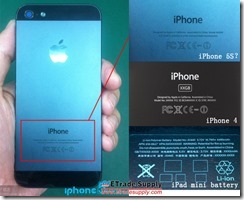 iPhone 5S parts pictured already 2