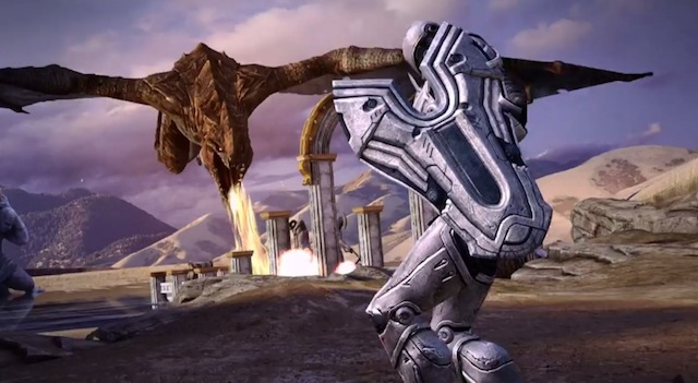 Infinity Blade III Review Great On Graphics Short On Story Line