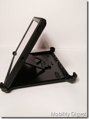 Mobility Digest Review OtterBox Defender for iPad Air upright stand display