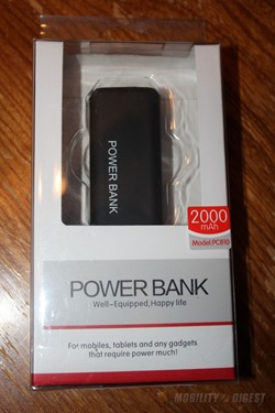 Review of Olixar enCharge 2000mAh Portable Power Bank