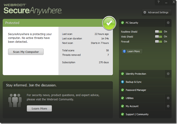 Webroot Internet Security Review