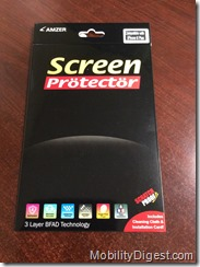 Amzer Kristal Edge2Edge Screen Protector Review