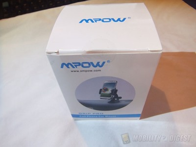 Review of MPOW Grip Pro Grip Pro Mobile Phone Universal Car Mount Holder Cradle