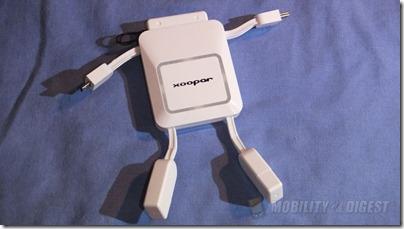 Xoopar Robo Power Bank 2000mA External Battery Review @ Mobility Digest